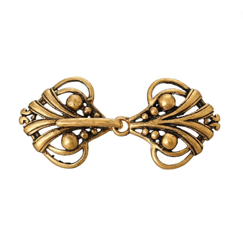 DoreenBeads Copper Toggle Clasps Heart Golden Tone 4.6cm X2.1cm(1 6/8