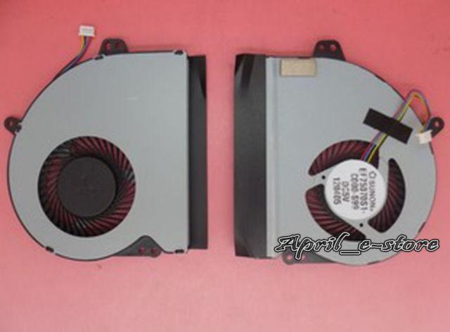 Novo para asus x501 x501a laptop ventilador de refrigeração da cpu, com pasta térmica livre, frete grátis!!
