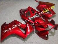 Лидер продаж, Дешевые Индивидуальные обтекатель для Honda VFR 800 02 12 VFR800 2002 2012 темно красные Кузов ABS средства ухода за кожей Kit (литья под давлени