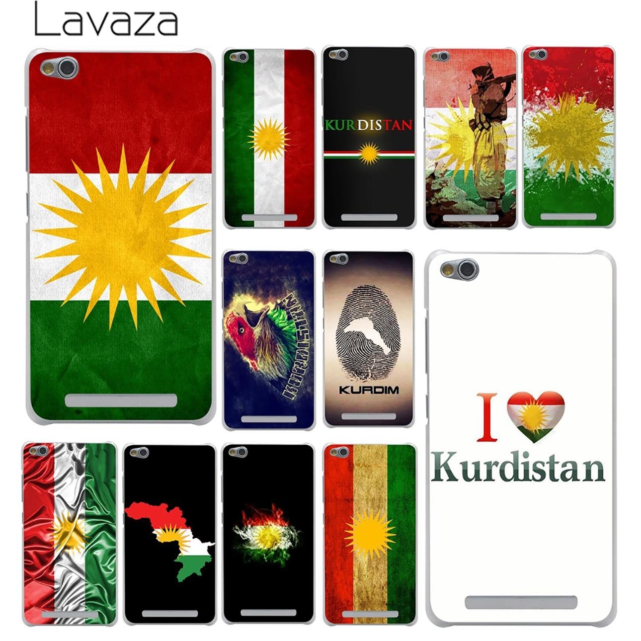 Lavaza Kurdish Autonomous Region flag Case for Xiaomi Redmi 4X Mi A1 6 5 5X 5S Plus Note 5A 4A 2 3 3S 4 4X Pro Prime Mi5X Mi6