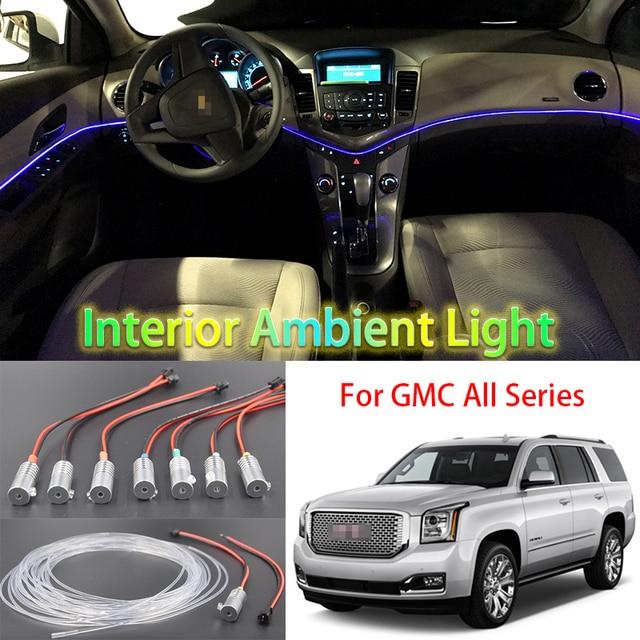 Voor GMC Alle Auto Metalen hoofd hoge helderheid glasvezel lichten ...