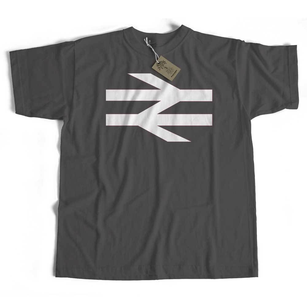 British Rail T-Shirt from Old Skool Hooligans - Double Arrow Logo Railway New T Shirts Funny Tops Tee New Unisex Funny Tops
