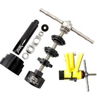 1 Set Professional Version Bicycle Press in Center Shaft Static Installation and Removal Tool Set BB86/30/92/PF30
