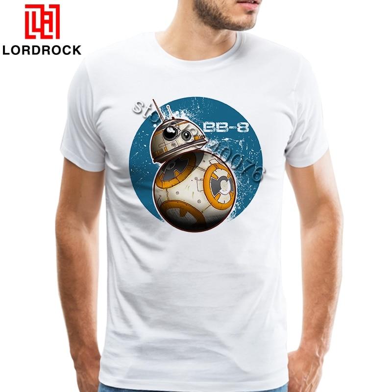 Brand Design Retro Star Wars Christmas T Shirt Cute BB8 Print Family Darth Vader Tees Empire Stormtrooper Graphic TShirt Apparel