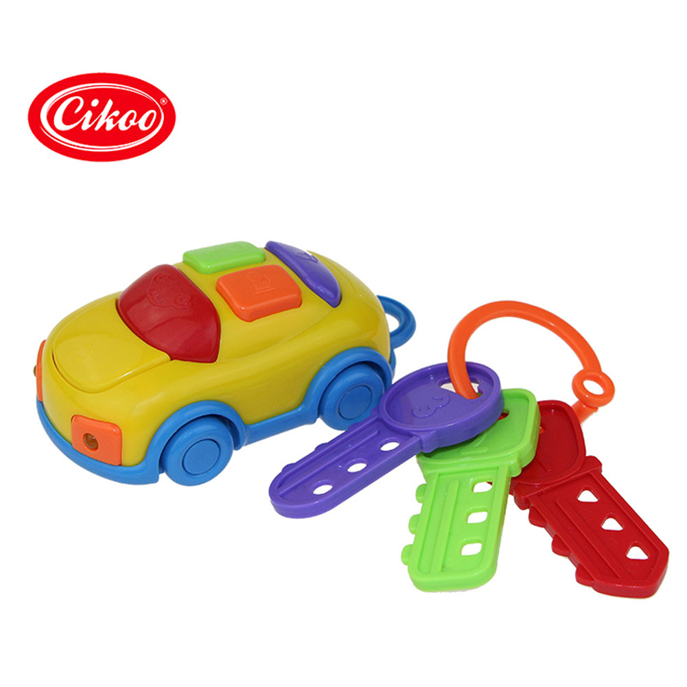 Hot Sale Cikoo Music Car Keys Baby Early Childhood Education Baby