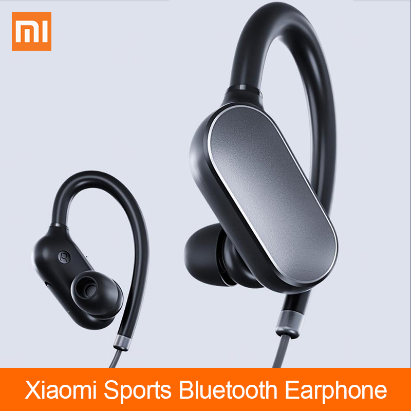 Xiaomi Mi Sports Bluetooth Earphone Wireless Bluetooth 4.1 Music Sport Earbuds Waterproof Sweatproof Headphones with Microphone askmeer 8gb mp3 music player headsets wireless bluetooth sport earphone sweatproof earbuds headset with microphone handsfree