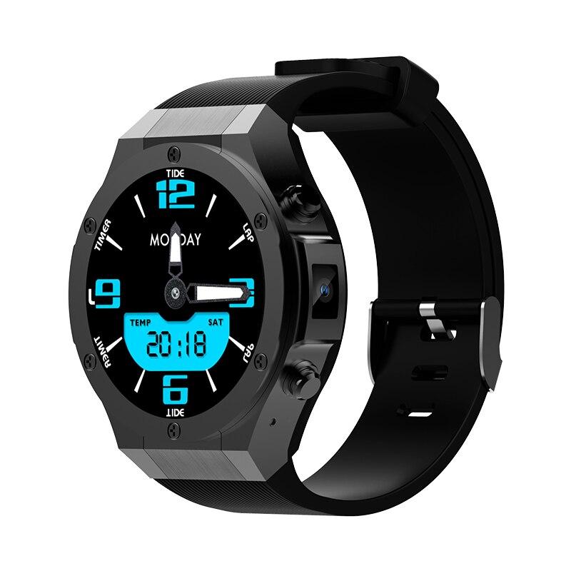 Wifi Connect Smart Wristwatch Led Digital Sport Watches Men Women Intelligent Clock Blurtooth Saat 3g Video Call Watch 2018 New