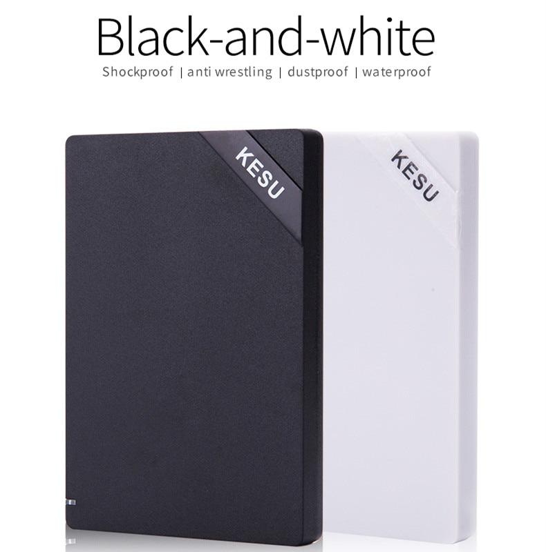 Disque dur externe KESU 2.5 ''USB3.0 120 GB 160 GB 250 GB 320 GB 500 GB 1 to HDD disque dur externe HD pour ordinateurs portables et ordinateurs de bureau Udma