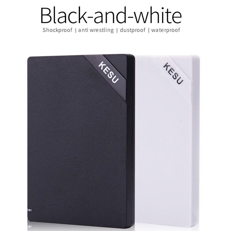 KESU 2,5 ''Externe Festplatte USB3.0 120 GB 160 GB 250 GB 320 GB 500 GB 1 TB HDD externe HD Festplatte für laptops & desktop Udma