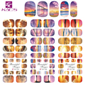 2016 KADS HOT337-339 Sunset Glow in Nature Designs Water Transfer Nails Art Sticker Nail Art Decorations Manicure Stickers