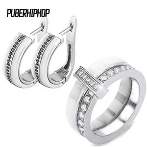 U Ben Shape Earrings Rings...