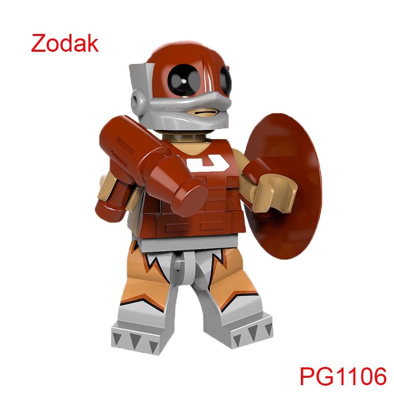 Single Sale Zodak Mini Brick He Man Masters Building Blocks Super Heroes Star Wars Gift Toys For Children Pg1106