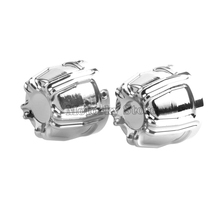 цена на For Harley Touring Sportster Softail Fat Boy Dyna V-Rod Street Glide Black/Chrome Motorcycle Front Axle Nut Cover Cap