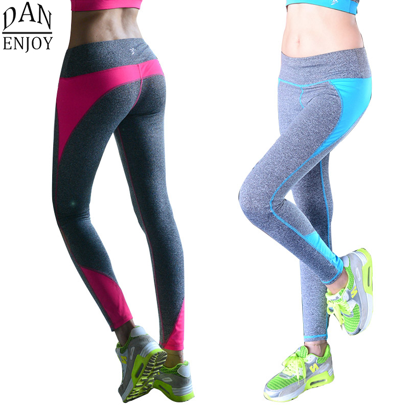 e28204f87302 Yoga Pants Women Sport Leggings Tracksuits Tights Fitness Women  Quick-Drying Polyester Compression Pants Sportswear C002 Z50
