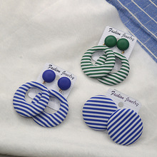9c1dd7e61a Buy stud earrings navy blue and get free shipping on AliExpress.com