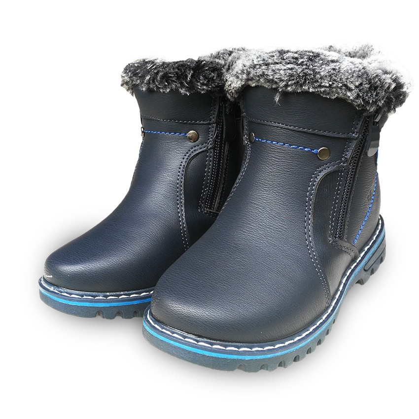 Hot Sale 1pair Waterproof Kids thickening Children Snow Boots Brand Boy winter cotton padded warm Child