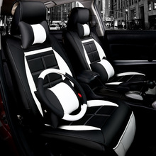 new automobile car seat covers leather cushions for Skoda Octavia Fabia Superb Yeti Rapid VOLVO V60 XC90 V40 XC60 S60L S80L