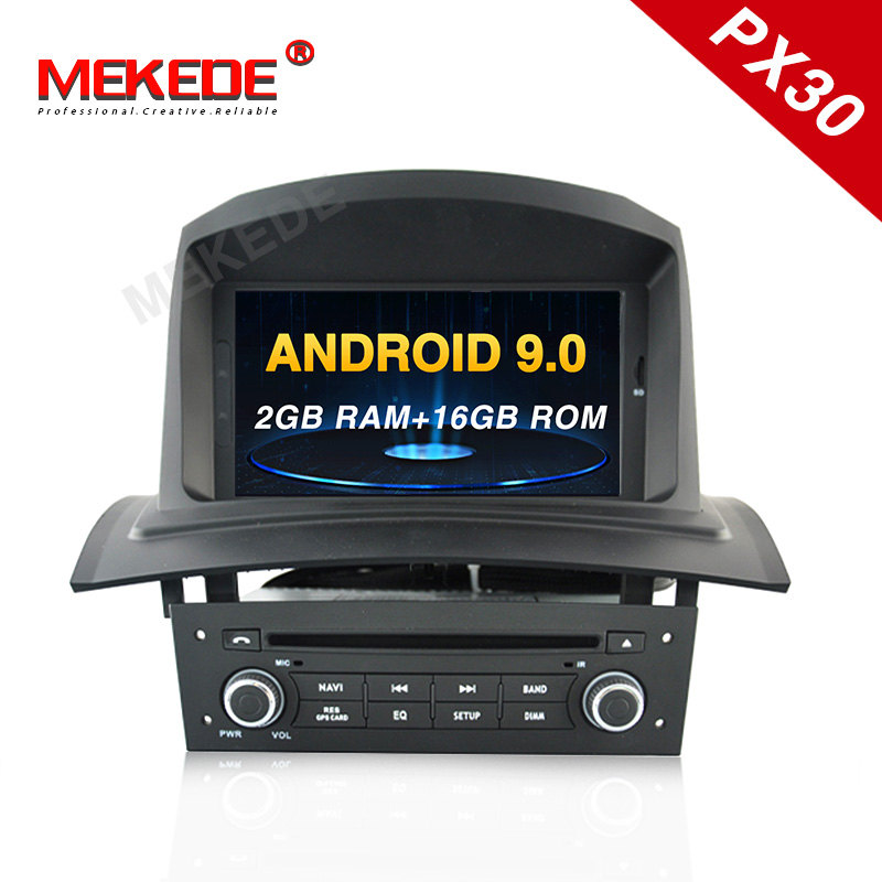 Android9.0 Fit For Renault <font><b>Megane</b></font> <font><b>2</b></font> Fluence 2002-2008 <font><b>GPS</b></font> navigation head unit radio tape recorder car multimedia with DSP IPS image