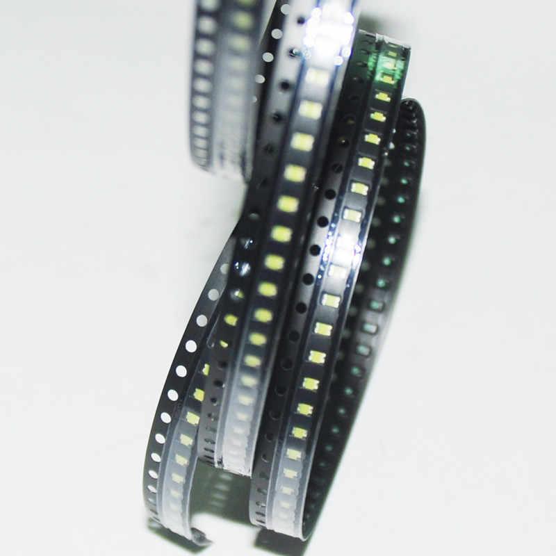 100pcs SMD 0603 0805 2835 3528 1206 5050 5730 светодиодный белый свет-светодиодные Branco диод поверхностного монтажа ультра яркая светодиодная лампа диоды для подавления переходных скачков напряжения
