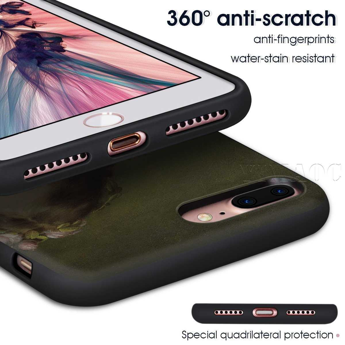Классический эстетический чехол с цветочным рисунком для Huawei Mate 20 Honor 6a 7a 7c 7x 8c 8x9 10 Nova 3i 3 Lite Pro Y6 P30 P smart