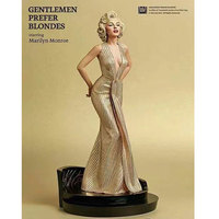 High quality 1/4 Scale Painted model Sexy Blondes Marilyn Monroe Statue pvc Action Figure collection toys gift With retail box