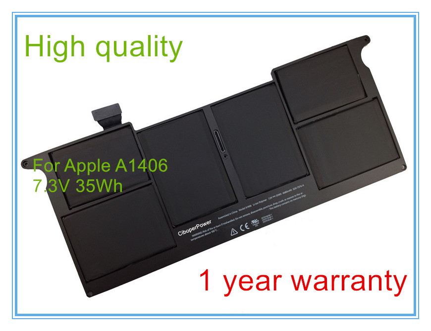 laptop Battery for  11 A1465 A1370 [2011 production] Replace: A1406 battery Free shipping lmdtk new 12 cells laptop battery for dell latitude e5400 e5500 e5410 e5510 km668 km742 km752 km760 free shipping