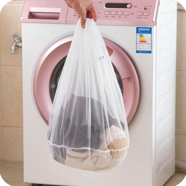 3 kích thước Rửa Giặt Quần Áo túi Chăm Sóc Có Thể Gập Lại Bảo Vệ Lọc Net Giặt Đồ Lót Áo Ngực Vớ Đồ Lót Giặt Quần Áo Túi