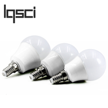 LQSCI LED Bulb Lamps E14 220V-240V Light Bulb Smart IC Real Power 4W 6W 7W 9W 12W High Brightness Lampada LED Bombillas