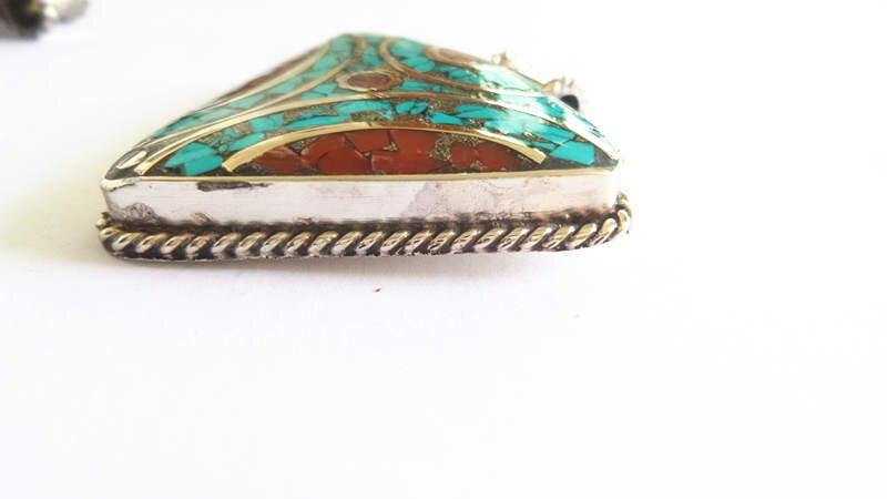 nepal hand metal pendants 158 (10)