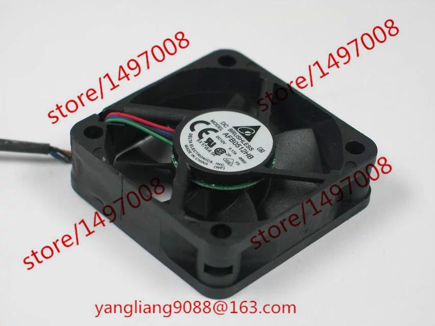 DELTA AFB0512HB B902 DC 12V 0.17A 50x50x15mm Server Square Fan