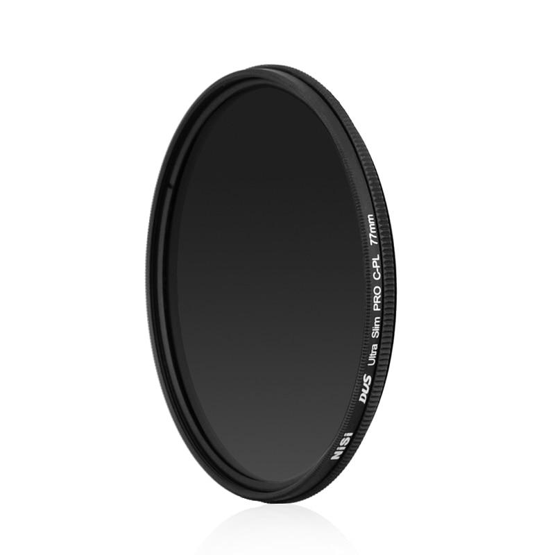 Prix pour Nisi DUS Ultra-mince mince cpl 39 40 40.5 46 49 52 55 58 62 67 72 77 82 MM circulaire filtres polarisés augmenter la saturation