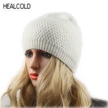 Women's Hat Rhinestone Wool Knitted Beanies for Ladies Winter Spring Beanie Hat Female Cap Skullies