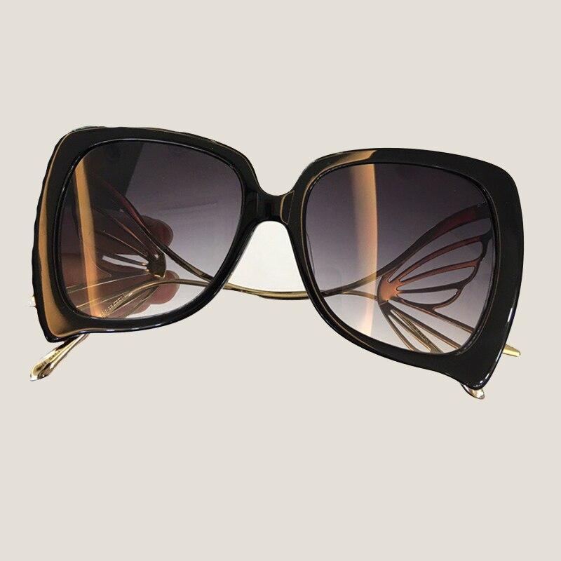 Butterfly Sunglasses Women 2018 New Fashion Eyewear Oculos De Sol Feminino Female Sun Glasses Acetate Frame with Butterfly Arms 2016 new fashion women vintage sunglasses female glasses outdoor sun glasses oculos de sol feminino