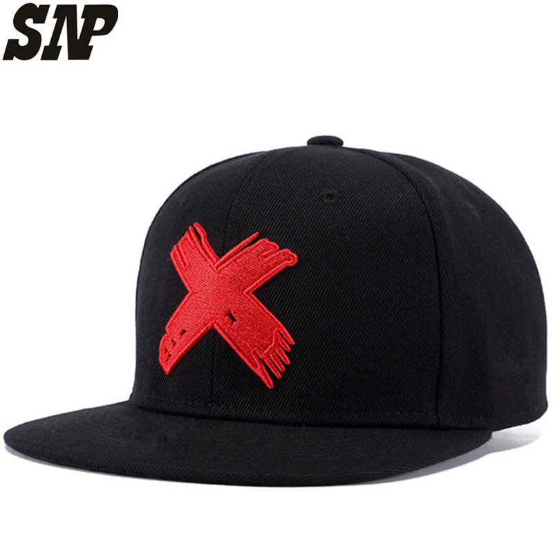 SNP snapback Hip Hop Cap Men women baseball cap Summer Women men Casual Embroidery X Snapback hats Adult Bone Cap Hip Hop gold embroidery crown baseball cap women summer cap snapback caps for women men lady s cotton hat bone summer ht51193 35