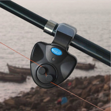 Black Small Mini Electronic Wireless ABS Fish Bite Alarm Sound Running LED Sensitive Mat Fishing Accessories