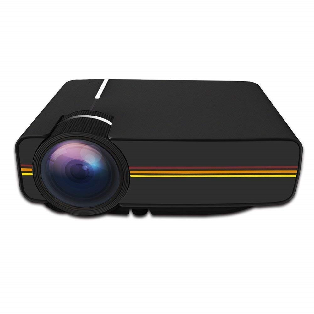 цена Mini LED Projector YG400 Multimedia Portable 1000 Lumens home theater PC USB HDMI AV VGA SD for Home Cinema Projector