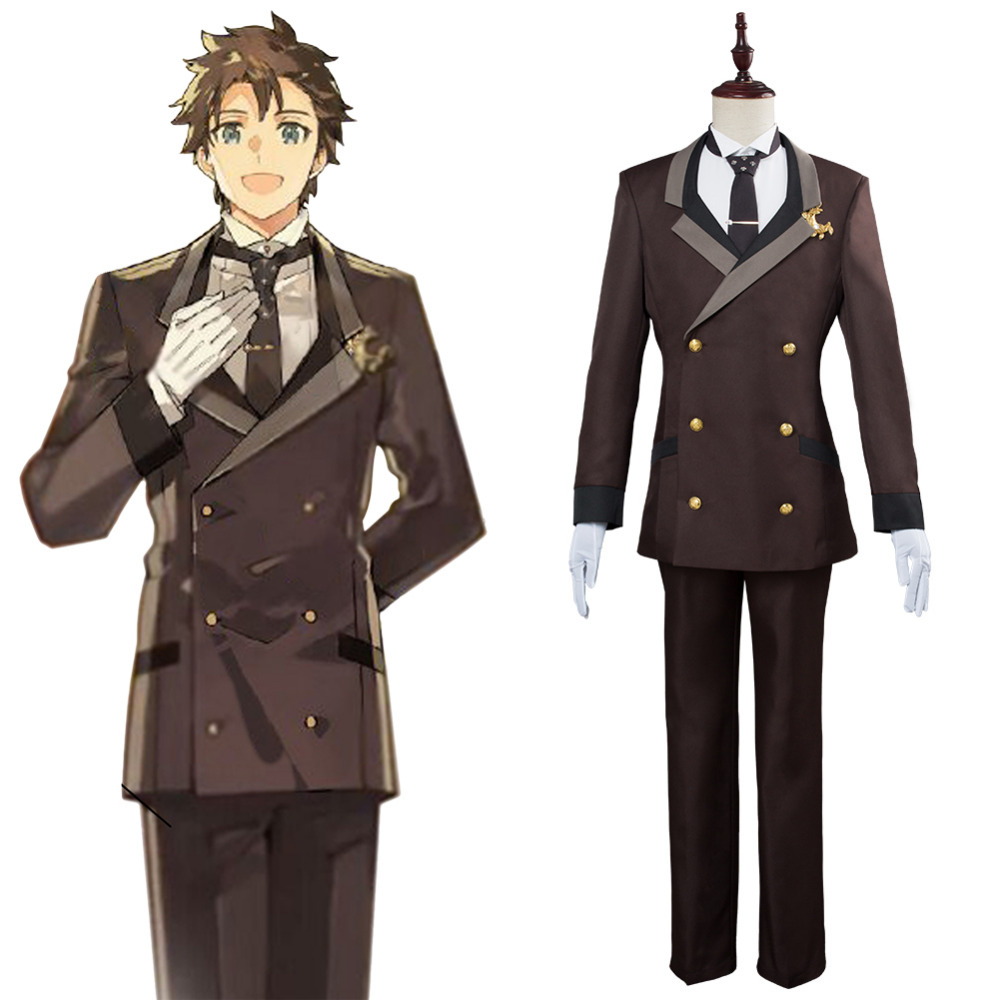 Fate Grand Order Cosplay Orchestra Project Fujimaru Ritsuka Cosplay Costume Full Suit Halloween Carnival Costumes Tailor Made