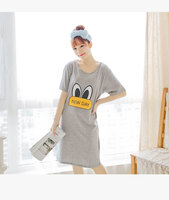 2017 New summer style Nightgown Nightdress pijama Ladies Sleepwear Women nightwear AZ701