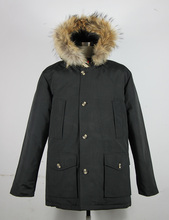 2017 Brand New Mens Men s Arctic Down Parka With Big Removeable Raccoon Fur Thick Winter