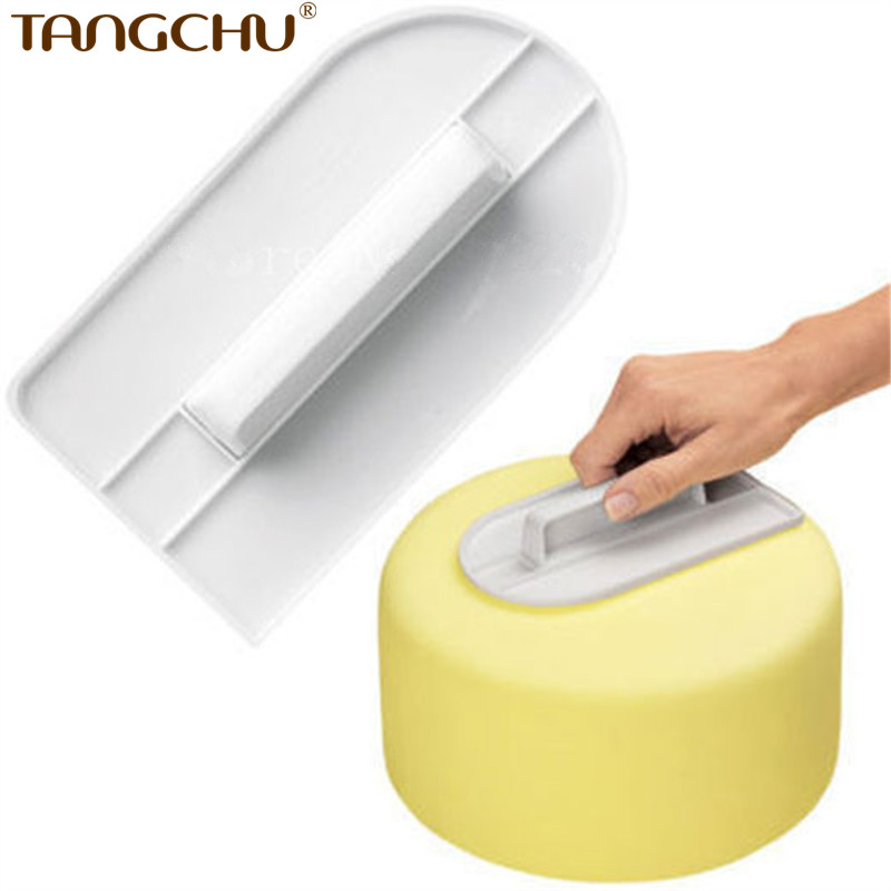 Kitchen Accessories Brand 100 Food Grade 3d Plastic Baking Smoother As Cake Decorating Tools