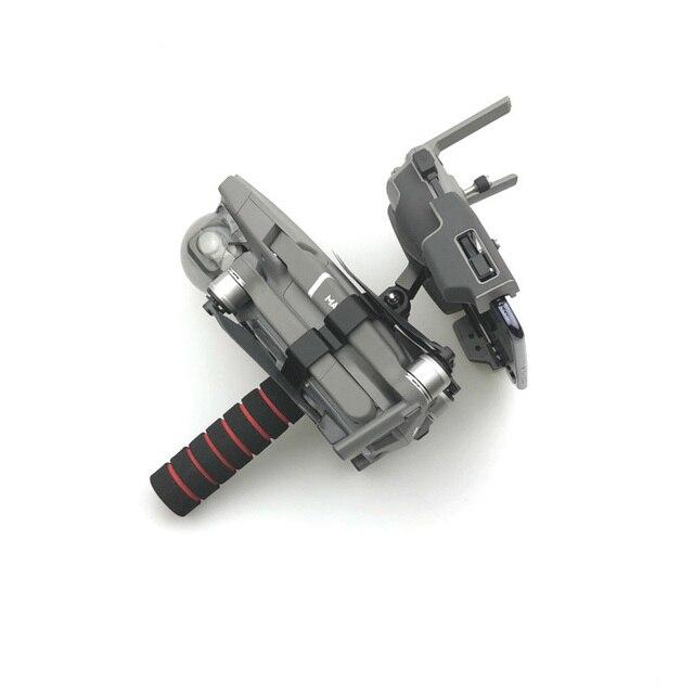 حامل صينية مثبت انحراف محمول باليد دعامة دعامة دعامة لجهاز التحكم عن بعد 1/4 مثبت ثلاثي القوائم لـ DJI Mavic 2 Pro zoom Drone