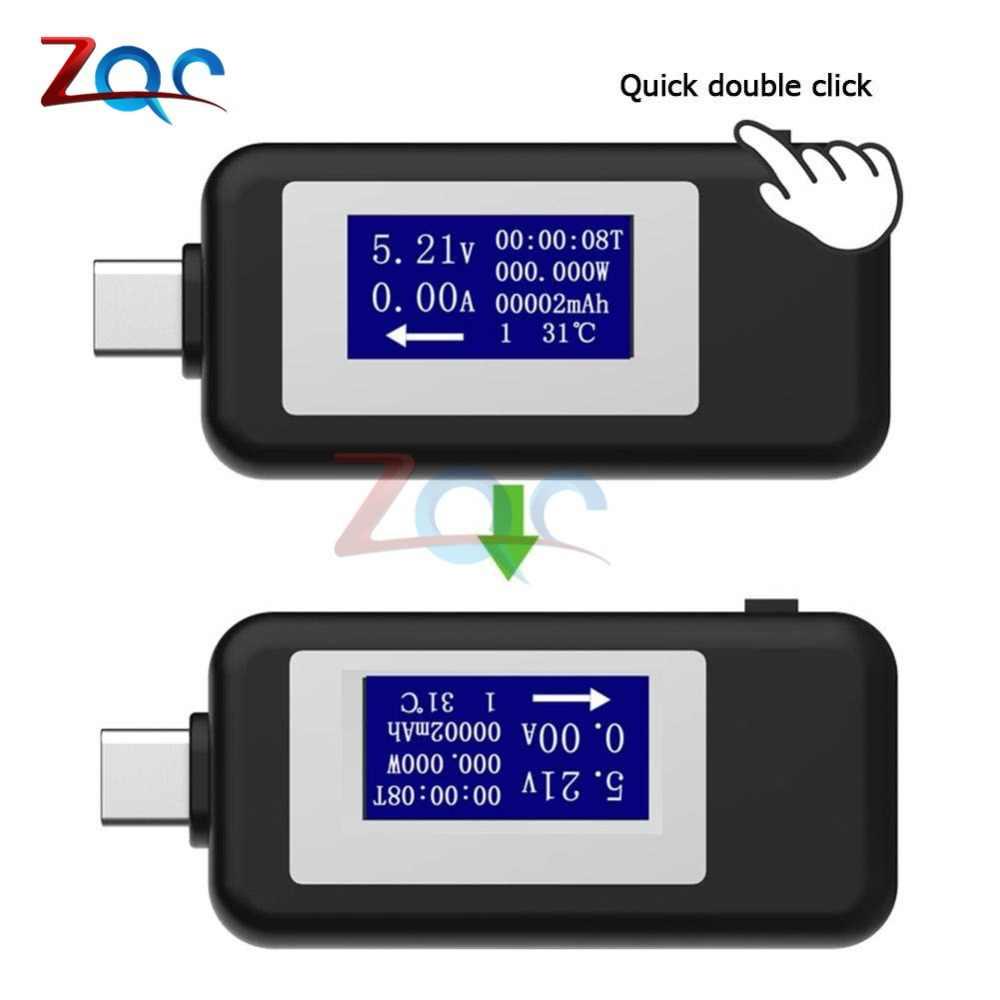 USB Digital Voltmeter Amperemeter Strom Spannung Meter USB Power Detector Tester Batterie Energie Kapazität Zeit Multifunktions Tester