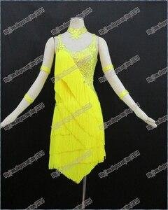 Image 1 - Latin dance dress/Waltz Tango Ballroom Dance Dress,Girls/Women Modern Dance/Perform Costume/Wear LD 0028