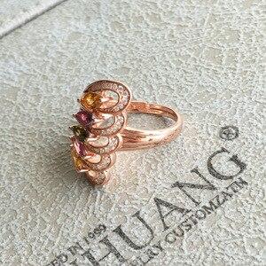 Image 3 - [Meibapj anel de prata esterlina 925, pedra preciosa natural da moda com pedra preciosa, joia fina para mulheres