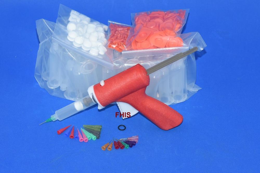10CC / 10ML  Single liquid manual red glue gun combination Silicone Glue Tool Adhesive Bonding Extrusion Tool блуза season 4 reason season 4 reason mp002xw1aah0
