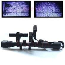 Chaude Nouveau Télescope de vision nocturne En Plein Air Chasse Optique Vue Jumelles avec LCD et IR lampe de Poche pas comprennent Fusil portée