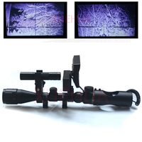 Hot New Telescope Night Vision Outdoor Hunting Optics Sight Binoculars With LCD And IR Flashlight Not