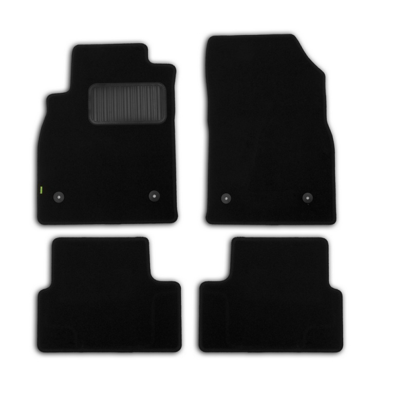 Mats in salon Klever Standard For OPEL Astra J 5D 2009->, хб... 4 PCs (textile)