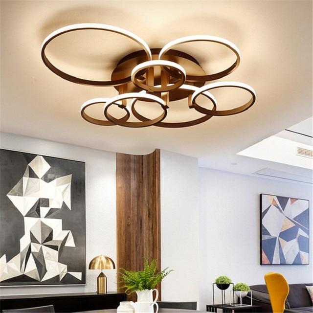 Aliexpress.com : Buy Creative Brown/white Modern ceiling Chandelier ...