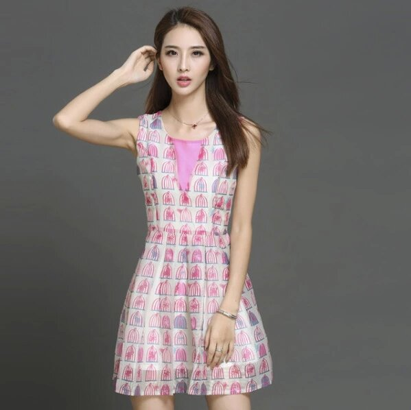 7725# Fashion Autumn Women Solid Party Dress Short Sleeve O-neck Casual A-Line Dress Women Sexy Beach Mini Dresses Vestidos